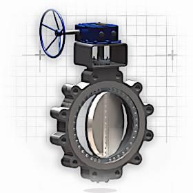 Control valve - butterfly valve type